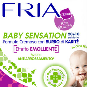 salviette fria baby sensation