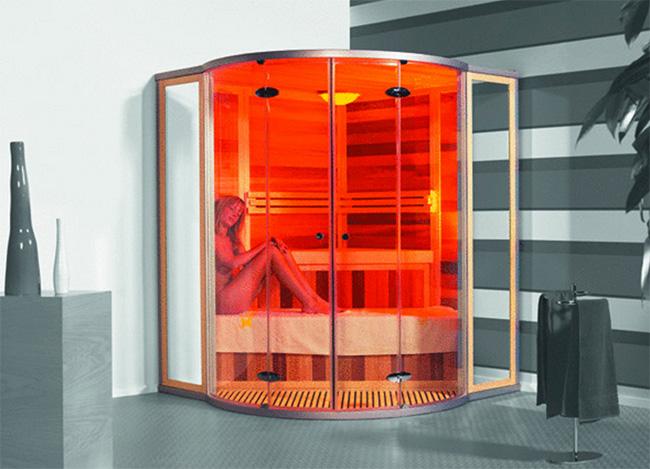rilassati con la sauna a raggi infrarossi | fria