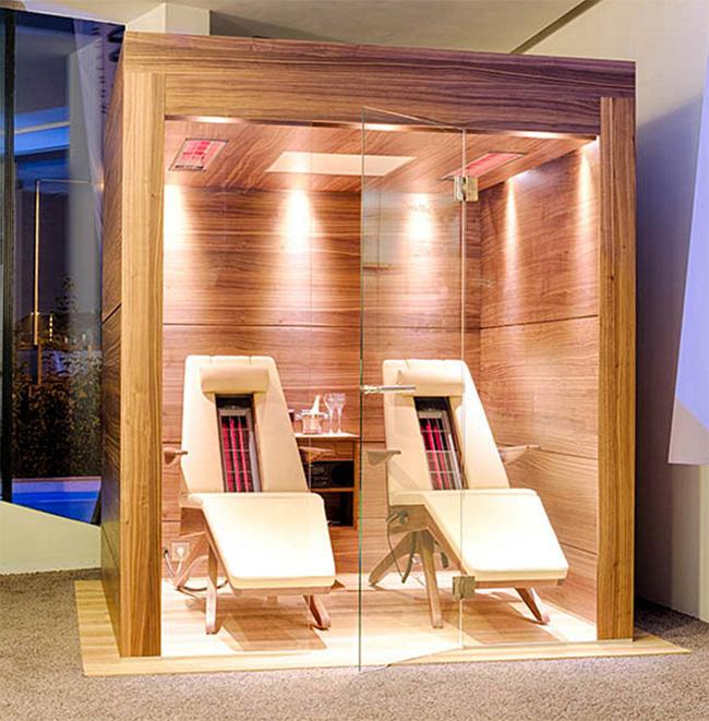 Sauna raggi infrarossi cura della pelle - Bagno turco controindicazioni ...